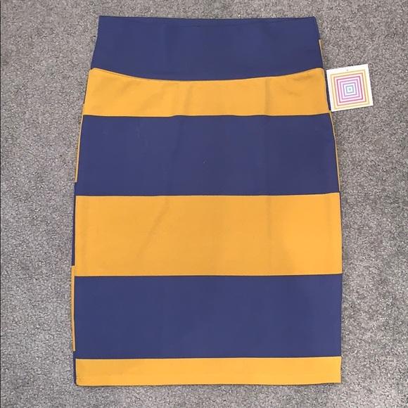 LuLaRoe Dresses & Skirts - 🆕 Lularoe Cassie Pencil Skirt Stripe XL